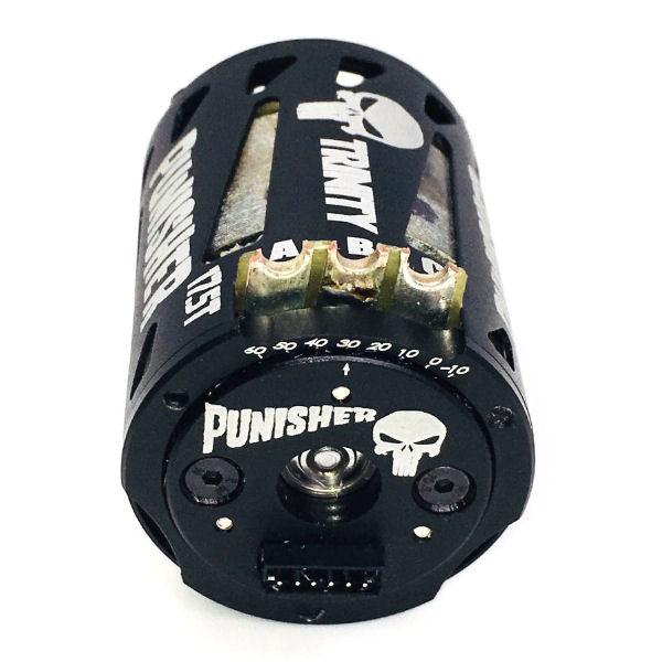 Team Trinity Punisher Brushless Motor - Rear