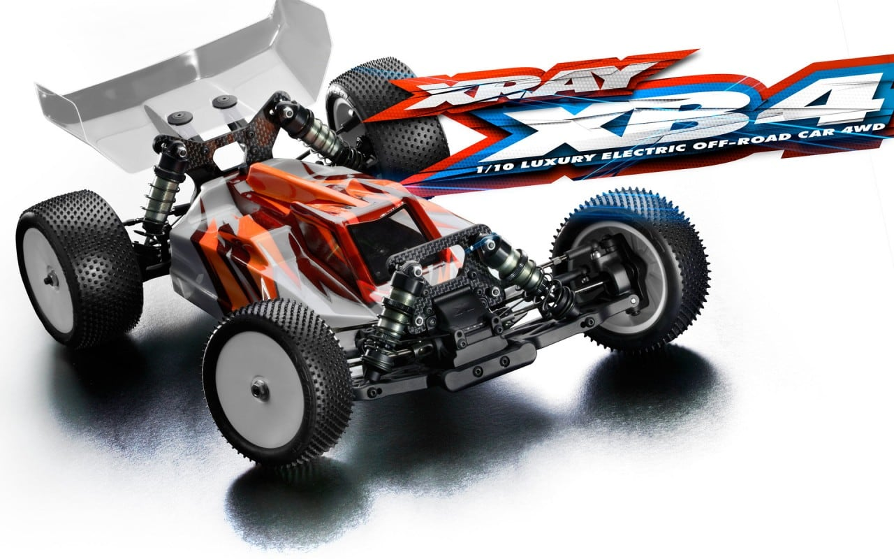 Race Into the Future with the XB4'18 from Team XRAY
