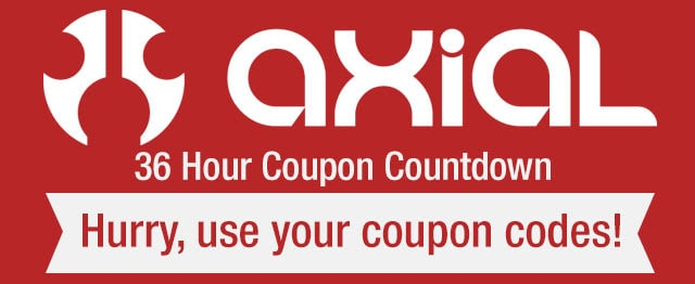 Tower Hobbies 36-hour Axial Coupon Countdown