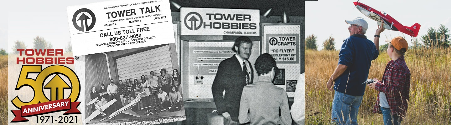 Tower Hobbies is Celebrating its 50th Anniversary with a Flash Sale