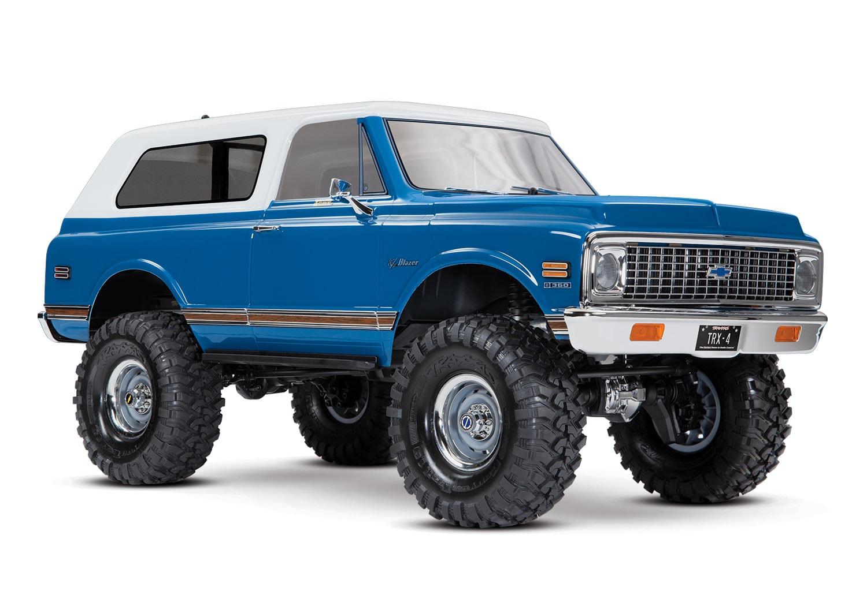 A Beauty in Blue: Traxxas TRX-4 1972 Chevy Blazer Body Kit