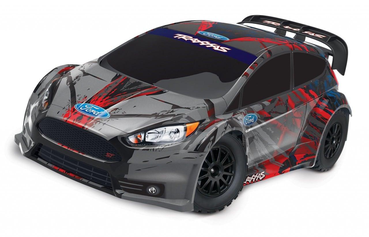 A Revitalized Rally Car: Traxxas Fiesta ST Rally 1/10