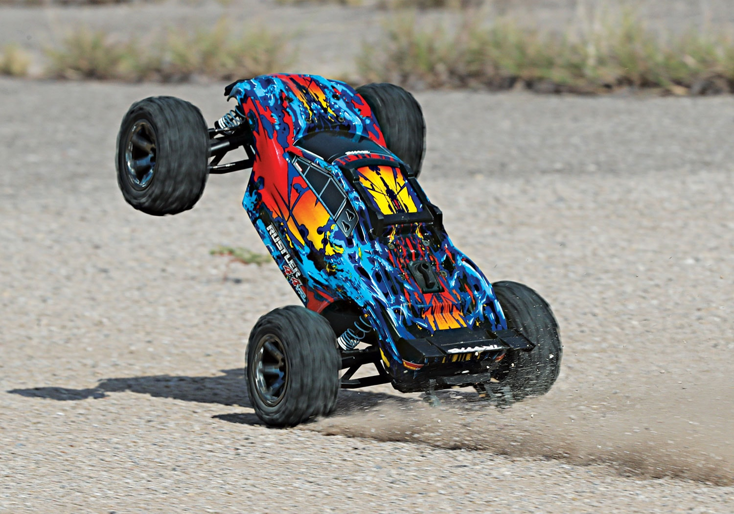 See it in Action: Traxxas Rustler 4×4 VXL [Video]
