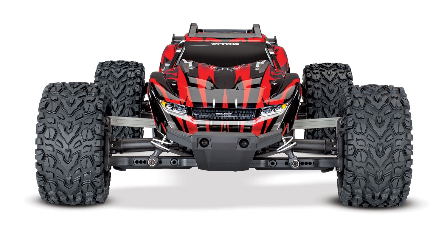 Traxxas Rustler 4x4 with Titan Power - Front