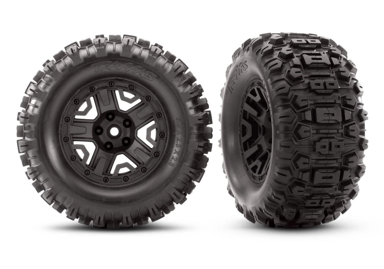 Traxxas Sledgehammer Extreme Terrain Tires for the Rustler 4×4