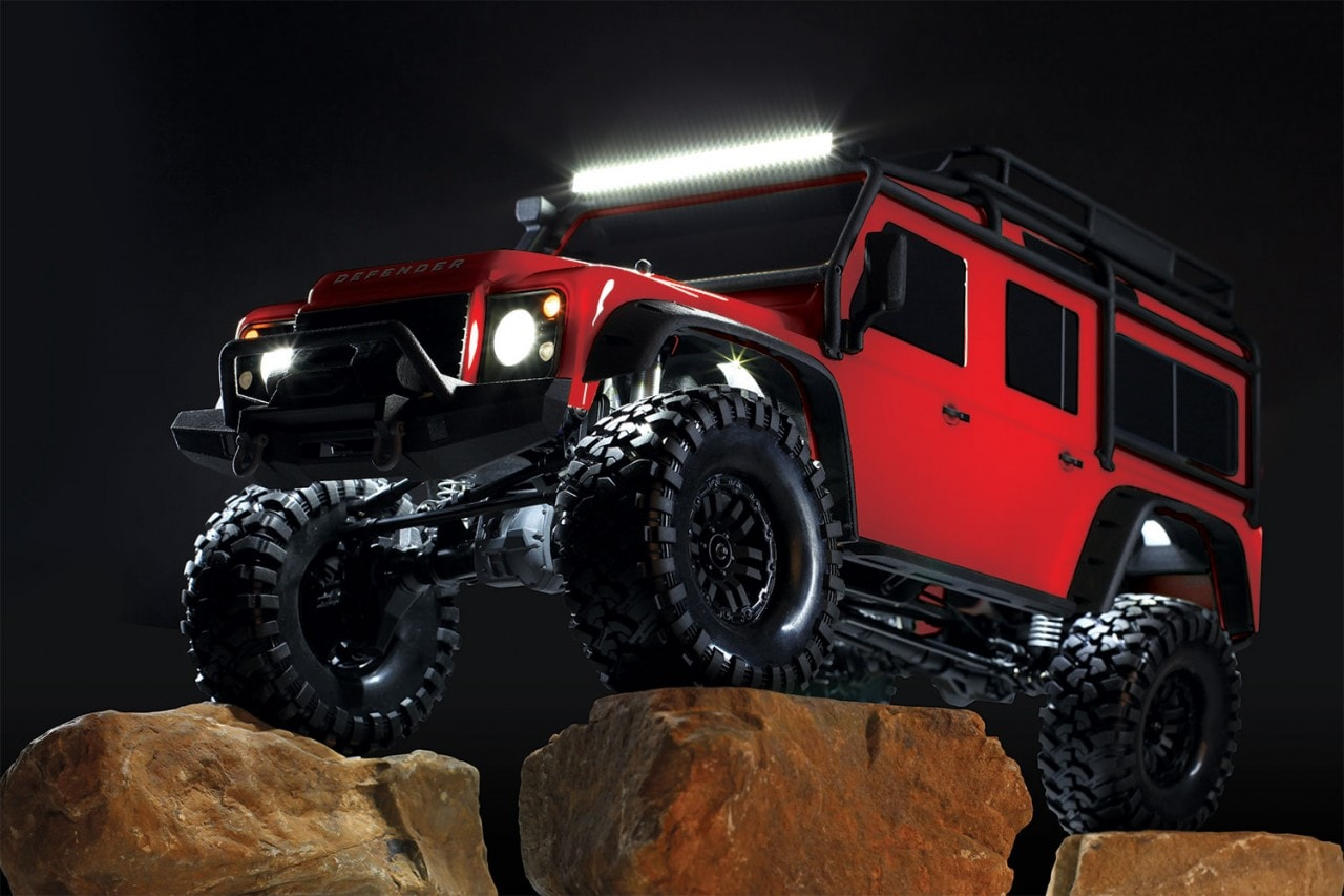 Trick Out Your TRX-4 with a Lighting Kit from Traxxas