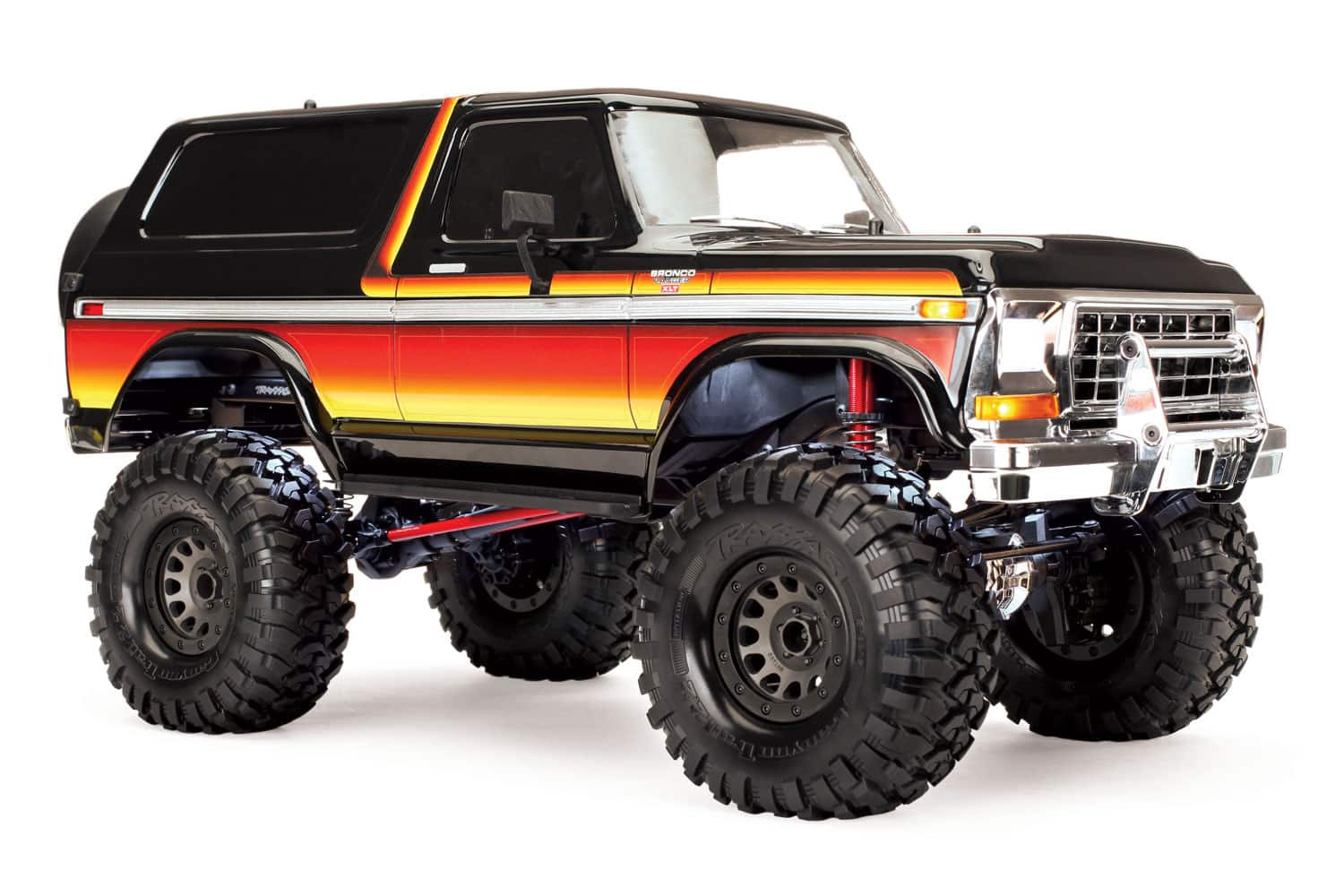 Long Arm Lift Kits for the Traxxas TRX-4