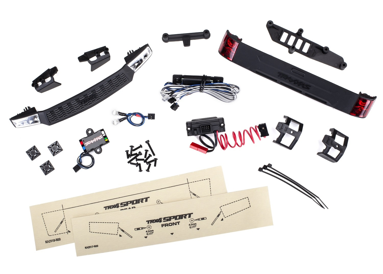 Traxxas TRX-4 Sport LED Light Kit - Components