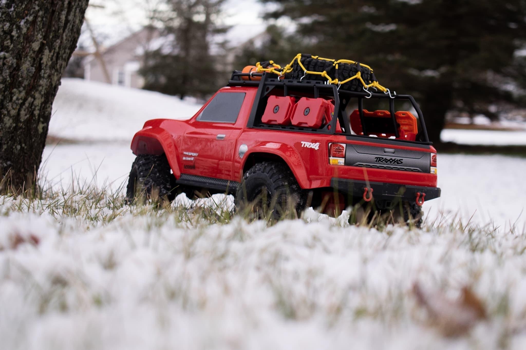 Traxxas TRX-4 Sport - Snowscape