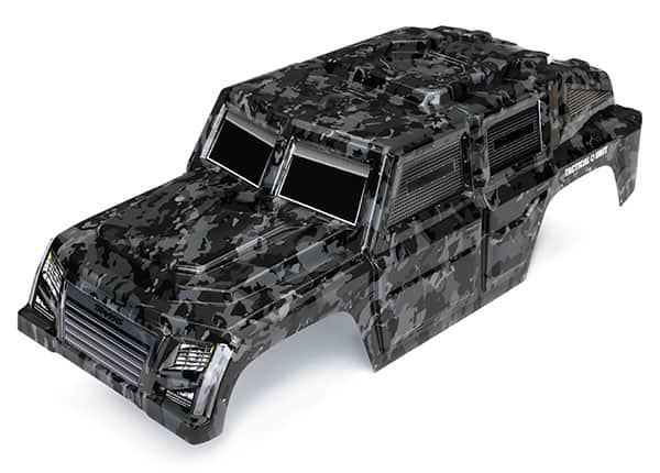 Traxxas Releases TRX-4 Tactical Unit Bodies and Accessories for Your Next R/C Adventure