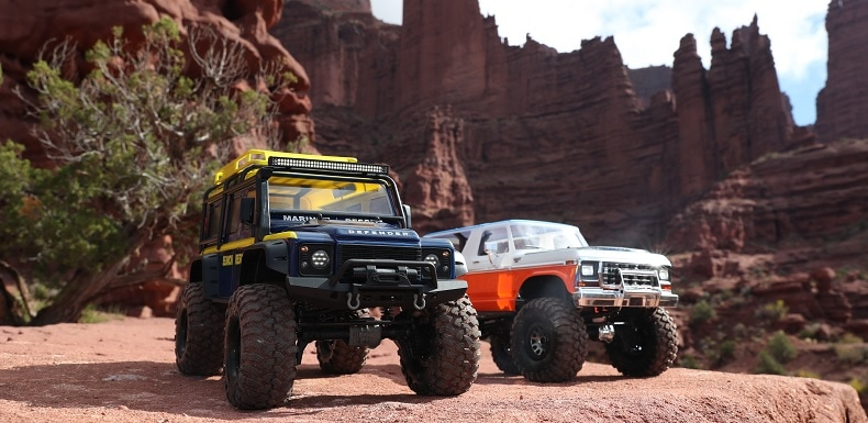 Watch Two Traxxas TRX-4 Rigs Take on Moab [Video]