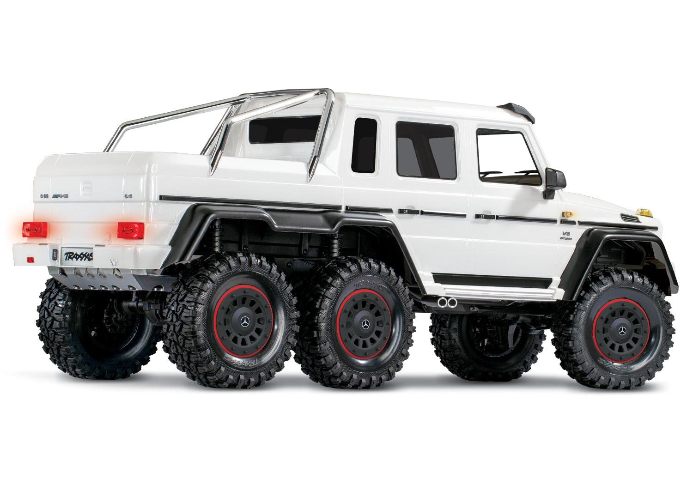 Traxxas TRX-6 Metallic White - Rear