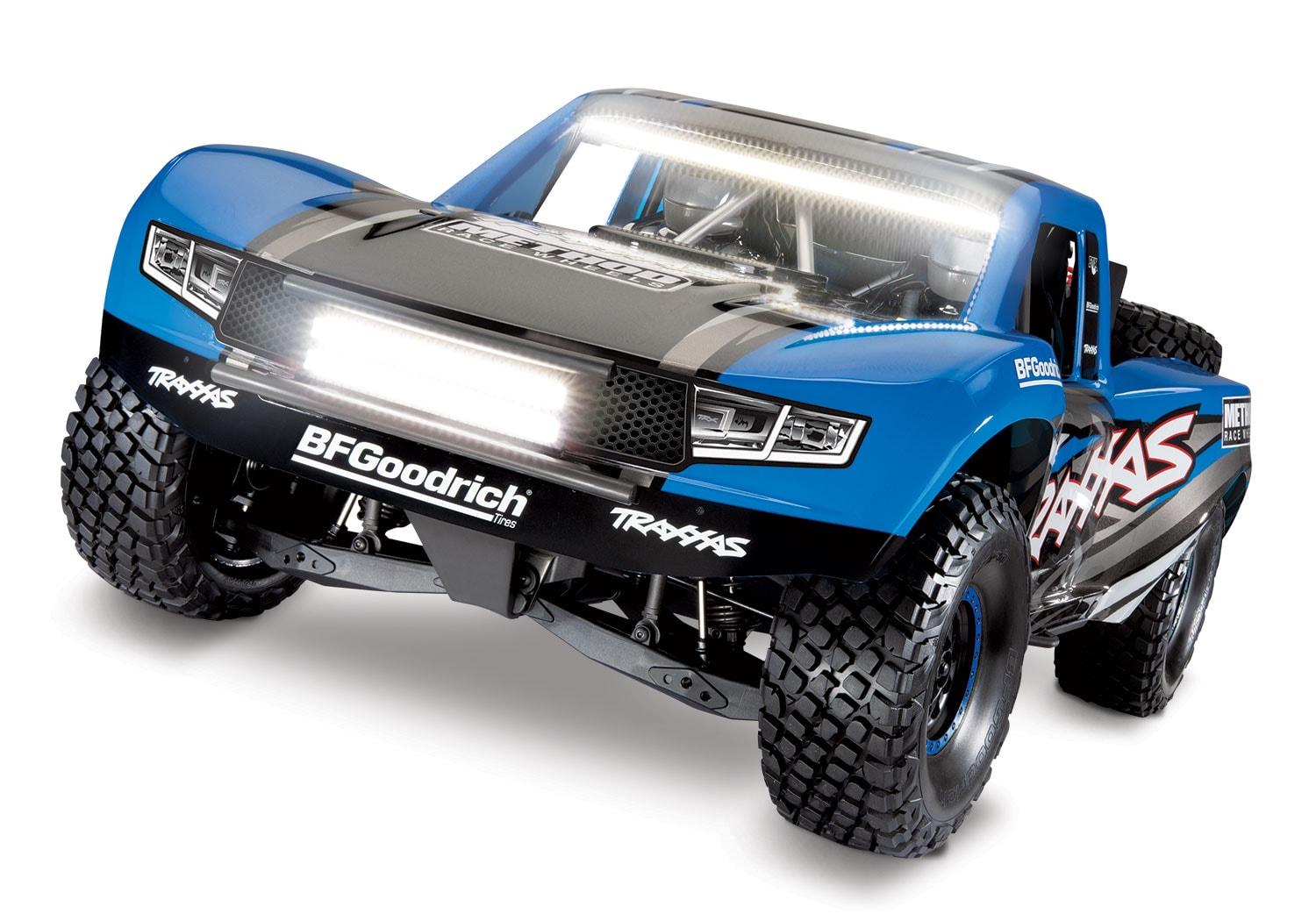Traxxas UDR Refresh: New Paint and Pre-Installed Lights for R/C Action Day or Night