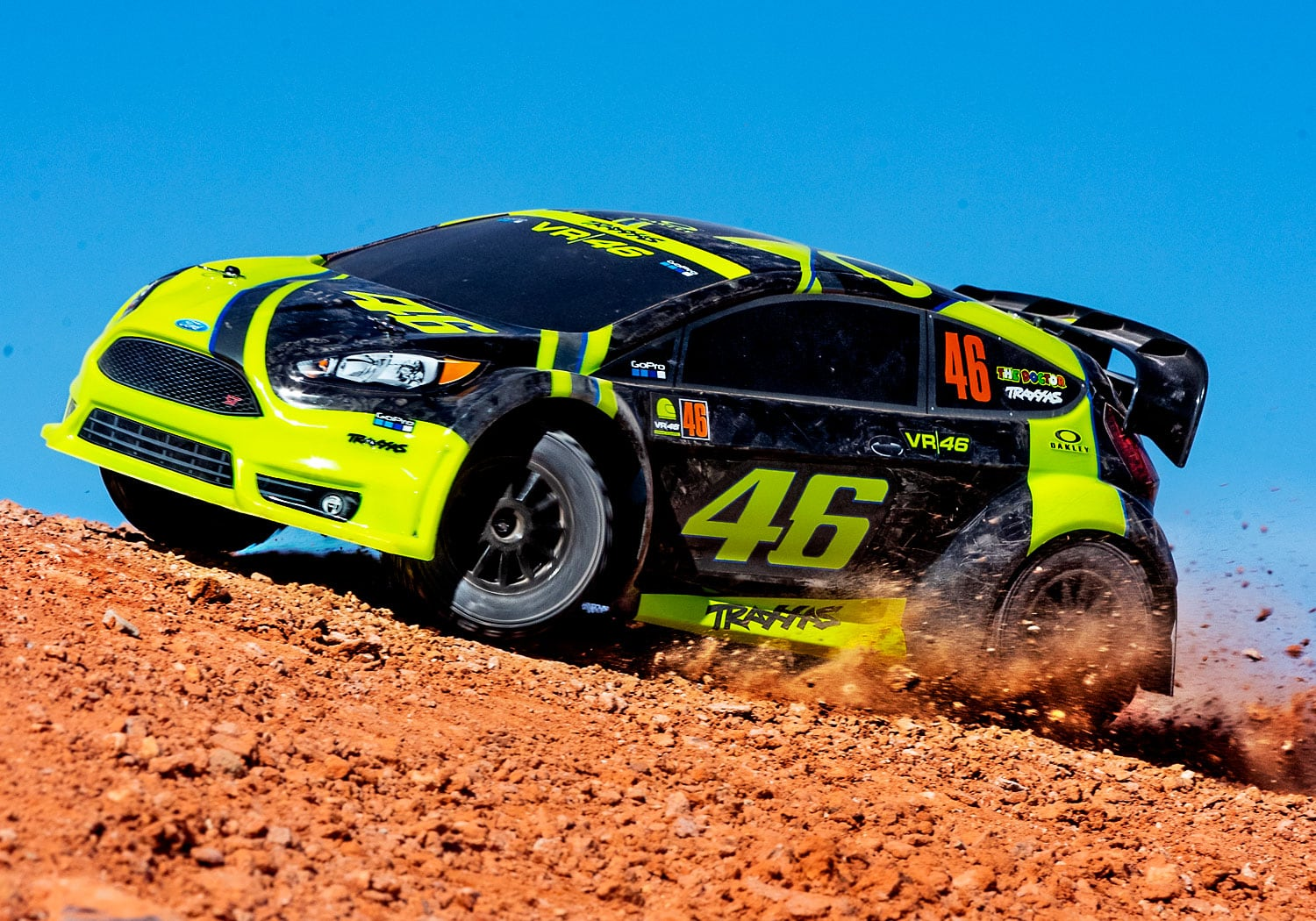 See it in Action: Traxxas Valentino Rossi Fiesta Rally Car