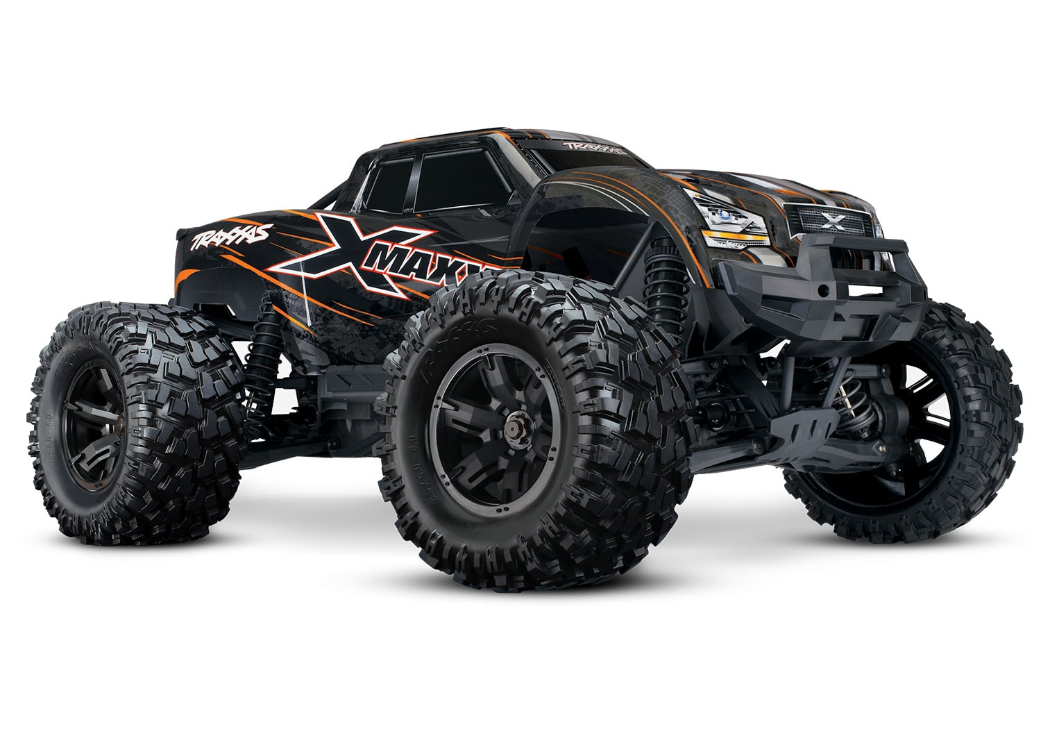 Traxxas X-Maxx: Orange Special Edition