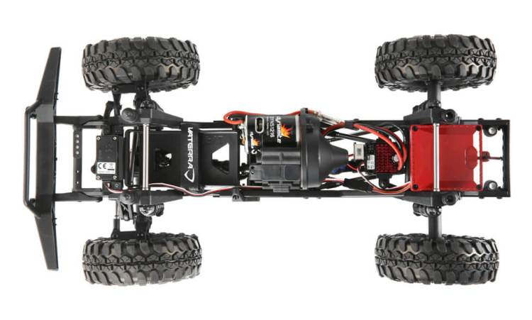 Vaterra Ascender Chassis Top