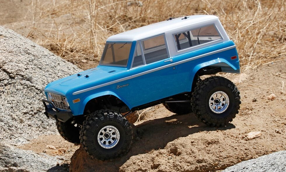 Venture Outdoors with Vaterra\'s 1972 Ford Bronco Ascender 4WD RTR ...