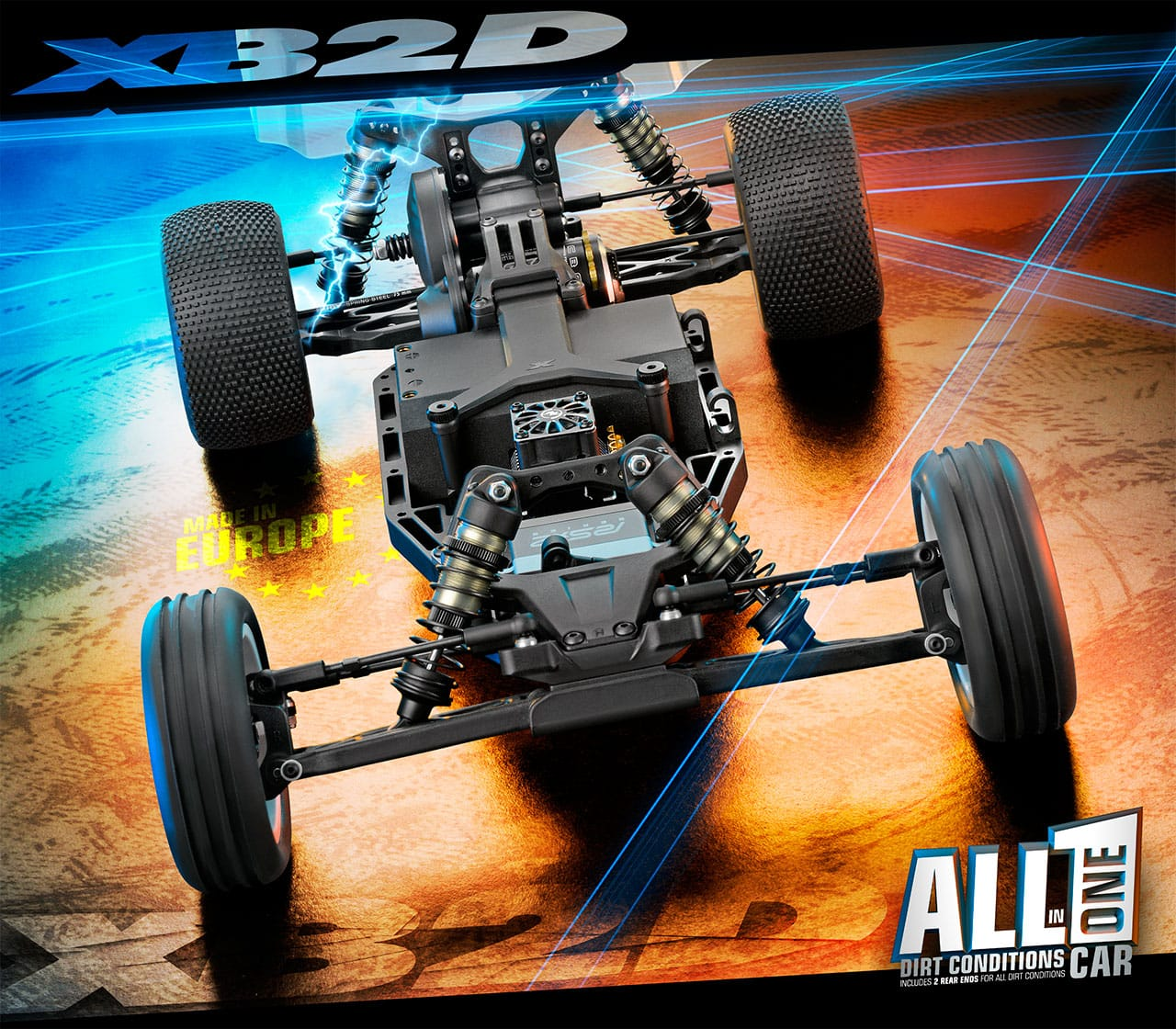 XRay XB2D-19 2WD Electric Competition Buggy Kit | RC Newb