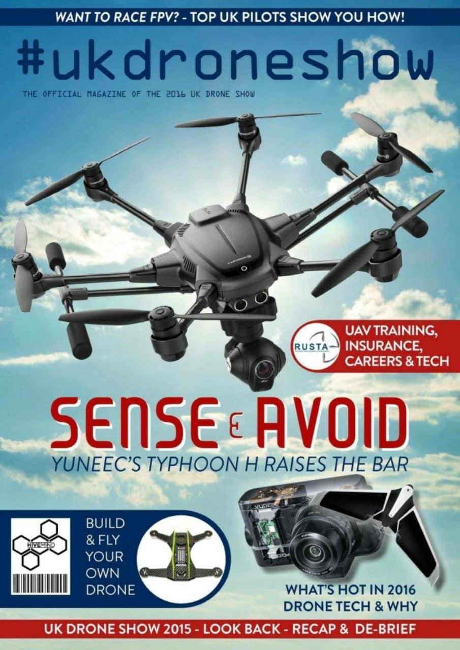 The #UKDroneShow Magazine Takes Flight