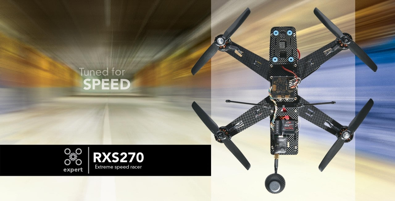 Get Into Multi-rotor Racing with the Rise RXS270