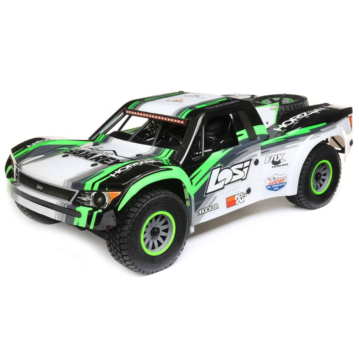 Big-time Fun: Losi's Super Baja Rey 1/6-scale Desert Truck