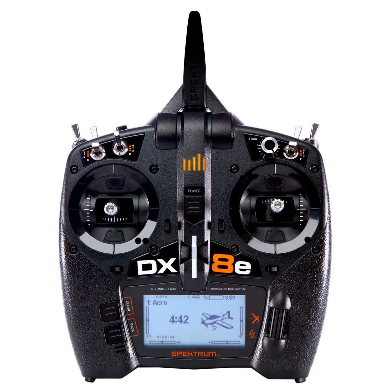 Spektrum DX8e 8-channel R/C Controller