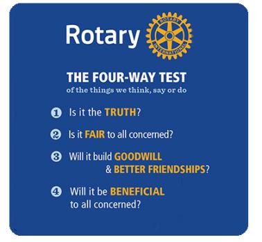 Rotary's 4-Way Test