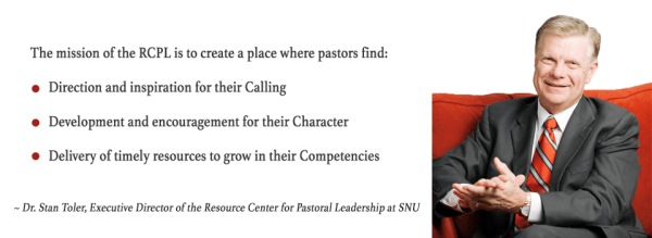 Dr. Stan Toler - Resource Center for Pastoral Leadership at Southern Nazarene University