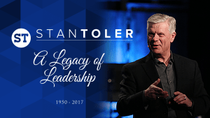 Stan Toler - A Legacy of Leadership 1950-2017