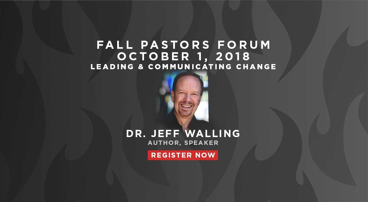 Pastor's Forum Fall Slider - REGISTER NOW
