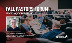 Link to the Fall Pastors Forum Registration