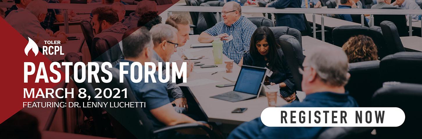 Register Now for Pastors Forum