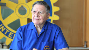 Clem Renouf, the RI president who inspired Rotary's polio eradication efforts, dies