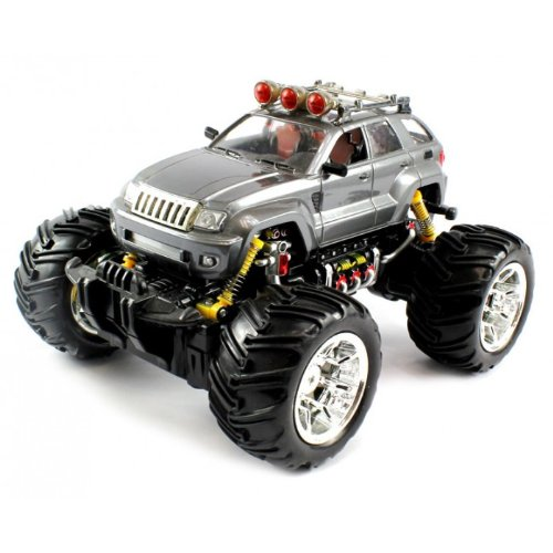 Jeep Wrangler Electric Remote Control Truck W Working Headlights