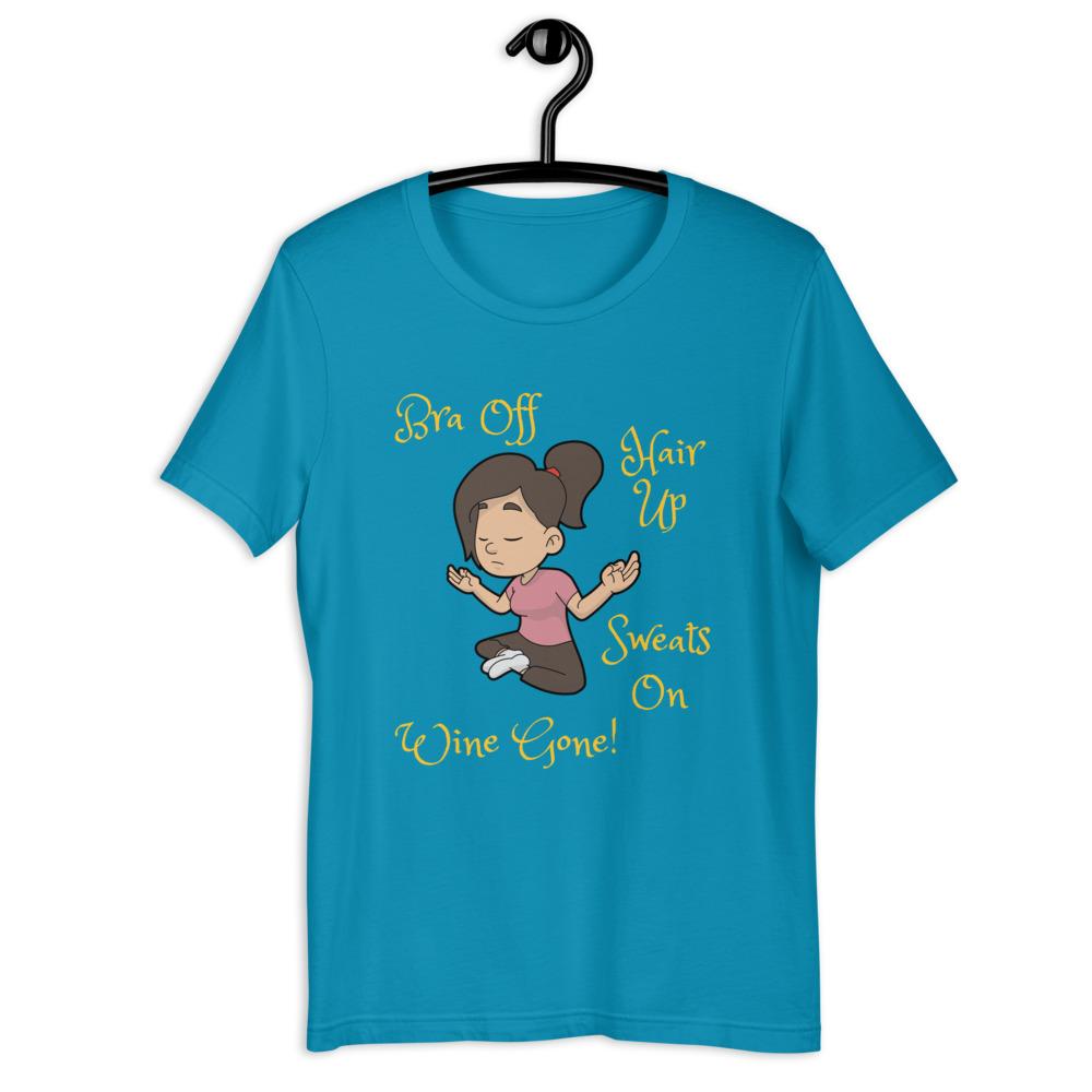 unisex staple t shirt aqua front 60f4e43039b47