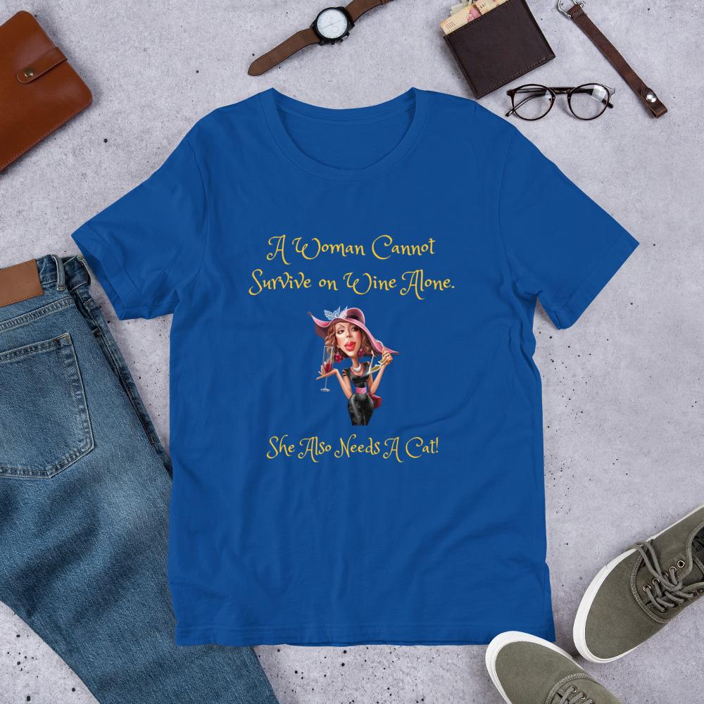 unisex staple t shirt true royal front 60f5f6d24c28e