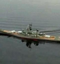 huge radio control rc uss new jersey bb 62 battleship ship ready to run rtr 54 inches long [ 1291 x 916 Pixel ]