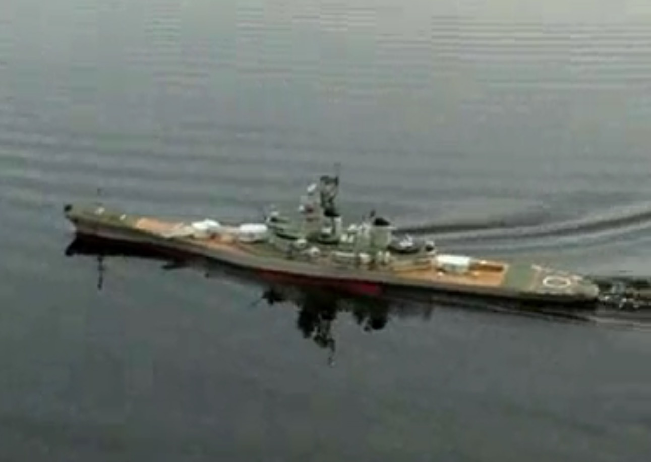 hight resolution of huge radio control rc uss new jersey bb 62 battleship ship ready to run rtr 54 inches long