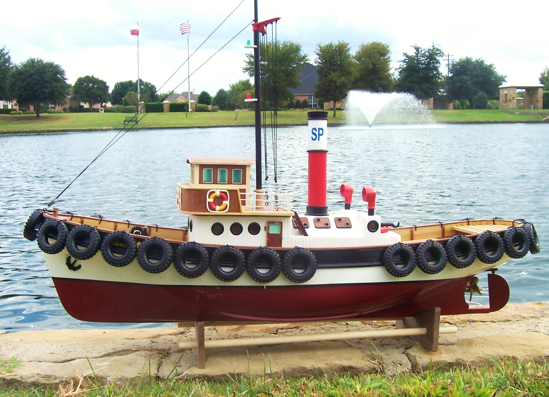 hight resolution of rc savannah harbor tug boat ready to run the scale modeler dock wiring diagram tugboat wiring diagram