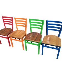 Restaurant Supply Chairs Walmart Baby High Chair Industrial Ladderback And Cafe Supplies