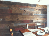 Out of the Ordinary Reclaimed Wood Projects - Restaurant ...