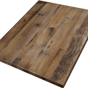 Reclaimed Wood Straight Plank Table Tops Economy