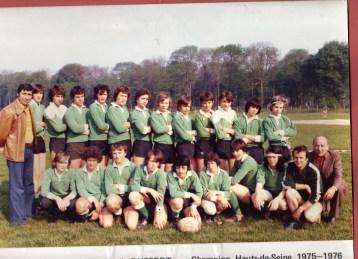 Juniors 1975-1976