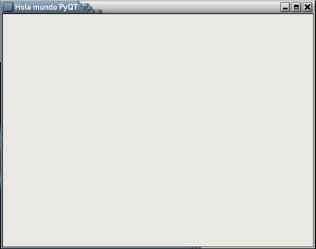 Iniciando con Python y QT (PyQt4) - I (1/3)