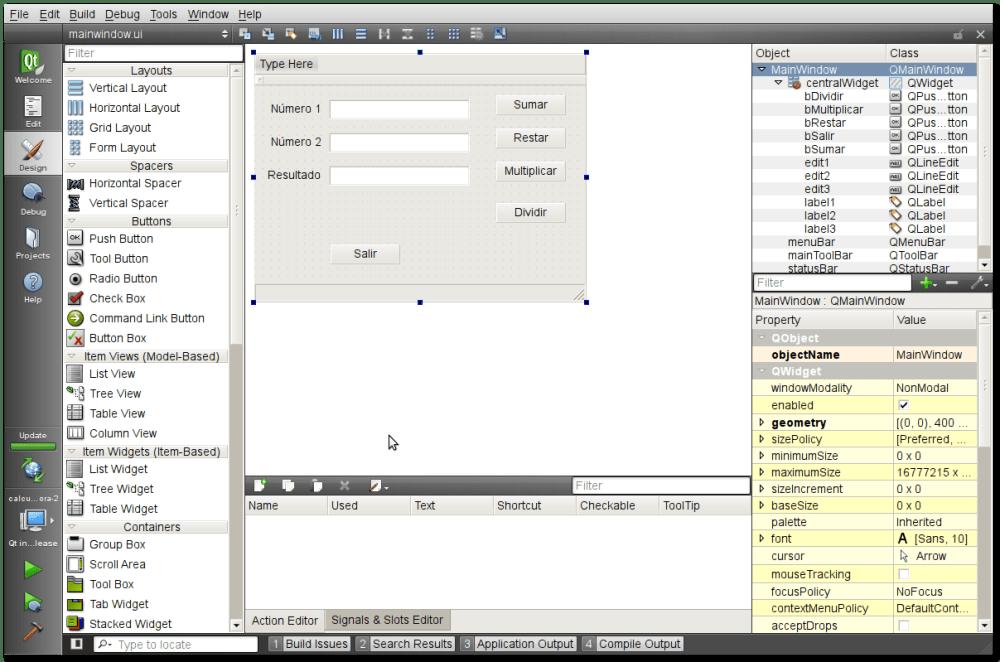 Iniciando con Python y QT (PyQt4) – II (2/3)