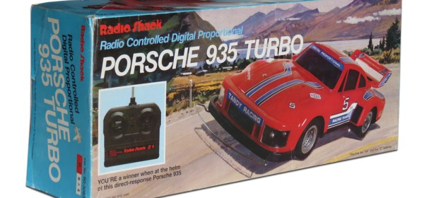 Tandy/Radio Shack Porsche 935 Turbo