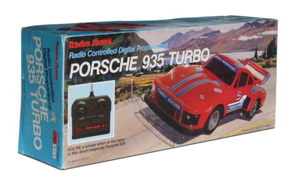 Tandy/Radio Shack Porsche 935 Turbo