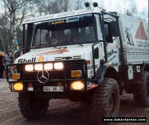 1982 Paris Dakar Winning Mercedes Unimog