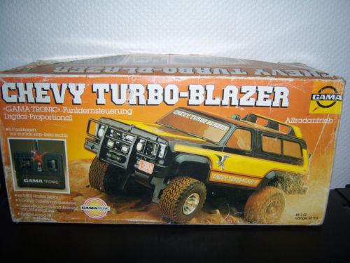 Gama Chevy Turbo-Blazer