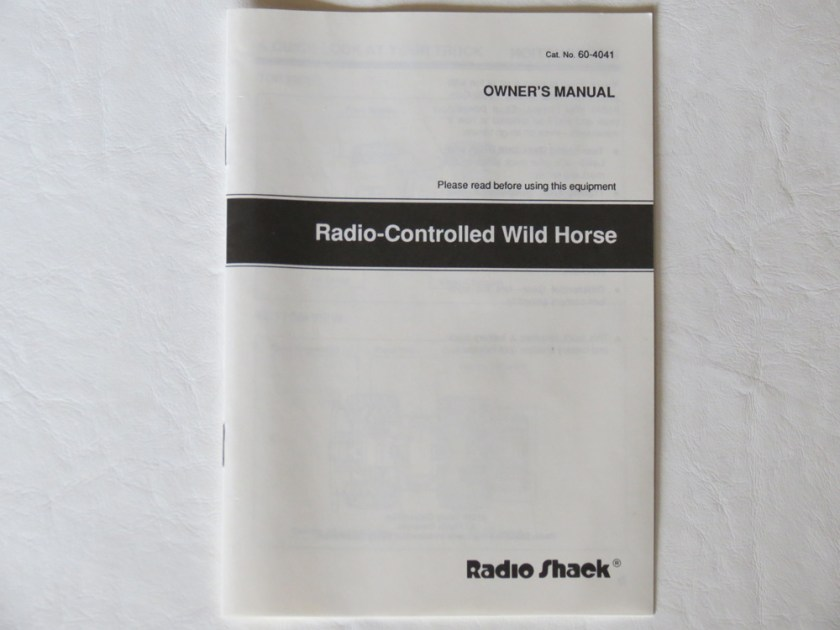 Tandy / Radio Shack Wild Horse